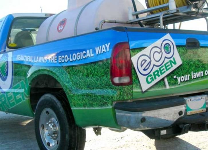 Eco Green Truck